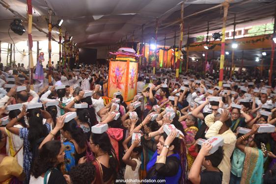 Guru Pournima- Bhakti Stambha Pradakshina